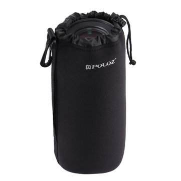 PULUZ PU5100 Neoprene Lens Carrying Bag with Hook for Canon for Nikon SLR Camera