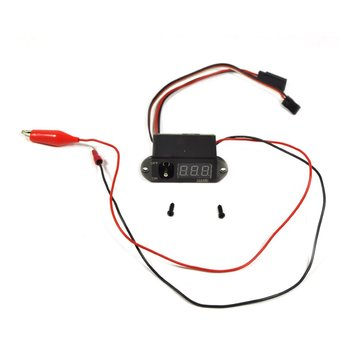 Rccskj 3 In 1 Methanol Nitro Ignition With Voltmeter And Large Current Digital Display Switch for RC Airplane