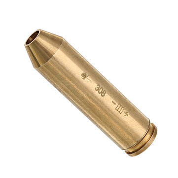 308 Laser Bore Sighter Red Dot Sight Brass Cartridge Bore Sighter Caliber