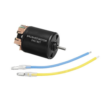 Racerstar 540 Brushed Motor With 2 Wires 13T/17T/23T/80T for 1/10 Rc Car Parts