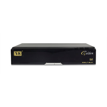 OpenBox V8 Golden DVB-S2/T2/C Satellite Receiver Set Top Box TV Box