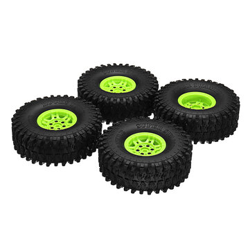 4Pcs AUSTAR AX-5020C-E1.9 Inch 120mm RC Car Tires With Hub For 1/10 D90 SCX10 CC01 RC Car Crawler