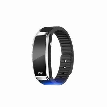 สายรัดข้อมือแบบพกพาการควบคุมด้วยเสียงการลดเสียงรบกวนเครื่องเล่นเพลงสร้อยข้อมือ Smart Watch