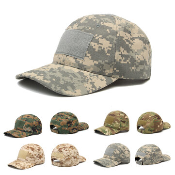 IPRee™ Camping Tactical Camouflage Sunhat Adjustable Travel Sunscreen Baseball Cap
