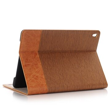 PU Leather Wallet Card Slot Kickstand Case For iPad Air 2/iPad 6