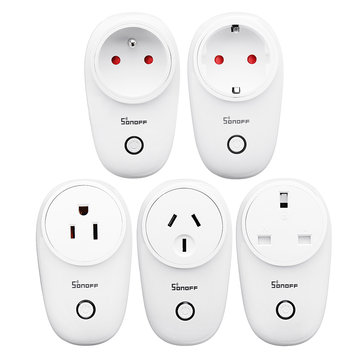 SONOFF® S26 10A AC90V-250V Smart WIFI Socket US/UK/AU/EU Wireless Plug Power Sockets Electronic Accessories & Gadgets from Electronics on banggood.com