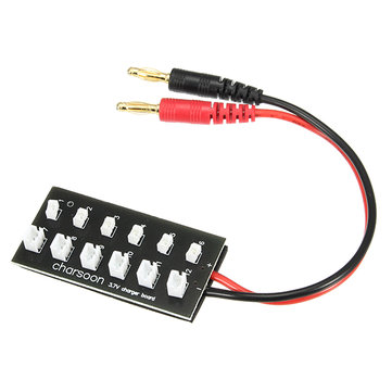 Charsoon JST-PH Charger Charging Board Banana Plug For Eachine E010 Blade Inductrix Tiny Whoop V911
