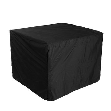 Black Polyester Waterproof Dustproof Generator Cover All Weather Protector Large Cover