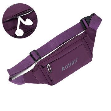 Women Men Outdoor Sports Waist Bags Casual Crossbody Bags Light Waterproof Running Bags