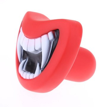 Dog Squeakair Dog Toy Funny Smile Teeth Silicon Toy Puppy Chew Play Toys