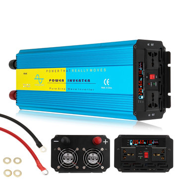 5000W Peak Pure Sine Wave Inverter Car Motor Homes Caravan Solar System 12V to 220V Power Inverter