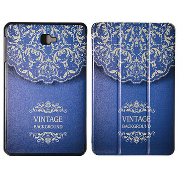 Stand Flip Folio Euporean pattern design Tablet case cover for Samsung GALAXY Tab A T555 9.7 Inch
