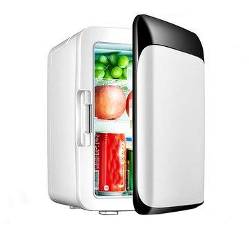 Coche Nevera mini frigorífica Coche Nevera pequeña doméstica de uso doble con congelador doméstico