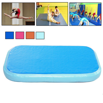 60x100x20cm Inflatable Gymnastics Mat Home Training Protective Air Tumbling Track Roller Yoga Mats