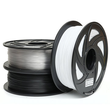 1KG 1.75mm PETG Filament Black White or Nude Color New Filament for 3D Printer