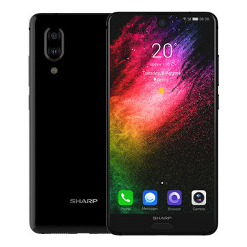 SHARP AQUOS S2 5.5 Cal Dual Camera Rear 4GB RAM 64GB ROM Snapdragon 630 Octa Core 4G Smartphone