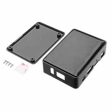 Black ABS Plastic Box Shell Enclosure Case For Orange Pi One