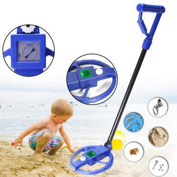 LCD Underground Metal Detector Treasure Hunter Gold Kids as Children Gift Toy