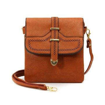 Женщин ретро выдалбливают Crossbody сумки случайные ремень сумки на ремне сумки посыльного