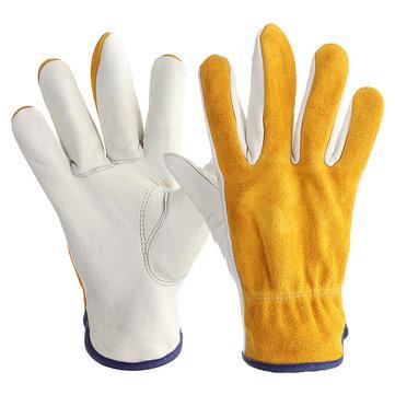 Garden Work Gloves Gardening Digging Planting Gauntlet Glove Claws M L XL