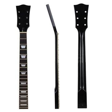 Chitarra elettrica Collo per chitarra parti di ricambio palissandro acero 22 Fret Finger Board nero