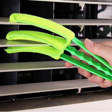 Honana HN-Q9 Chenilie Window Shutters Cleaning Brush Washable Air Conditioner Duster Detachable Cleaning Acce