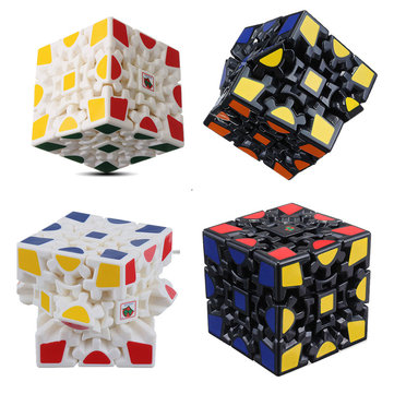 Drie Order Gear Cube Angst Stress Relief Fidget Toy Focus Focus Volwassenen Kids Attention Gift