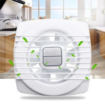 ดึงปลอกระบายอากาศพัดลมระบายอากาศ Mini Mini พัดลมระบายอากาศ ห้องอาบน้ำ โถสุขภัณฑ์