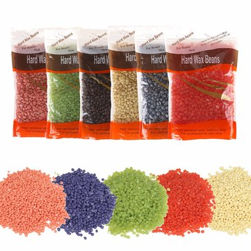 1 Pack No Strip Hair Removal Hard Wax Beans Hot Film Bikini Waxing Pellet 5 Fragrances