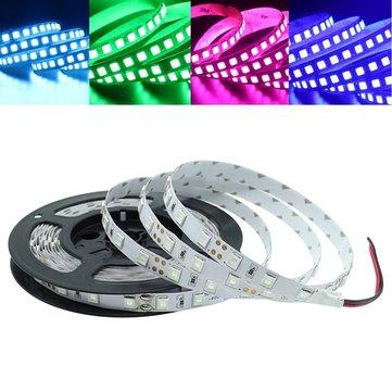 5M 5054 SMD 300LEDs Flexible Strip Tape Ribbon Lighting Non-waterproof Indoor Decor DC12V
