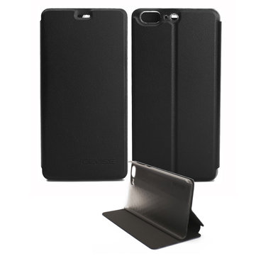 Flip Stand Shockproof PU Leather Protective Case For Leagoo T5