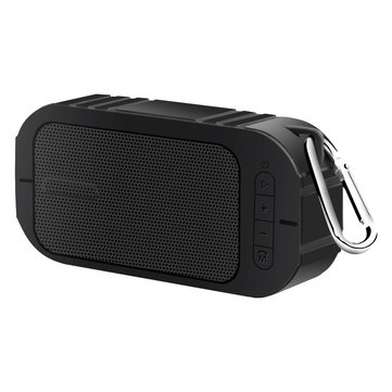 Outdoor Portable Water-proof Hands-free Calls 3.5mm Aux TF Card Wireless Bluetooth Speaker Subwoofer