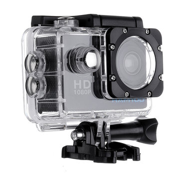HAMTOD HKJ400 30M Waterproof Generalplus 6624 720P HD 2.0 Inch LCD Screen Sport Action Camera