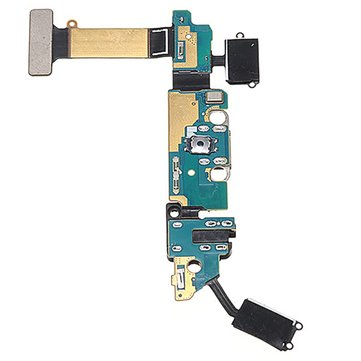 USB Charging Port Flex Cable Replacement+Mic Microphone Repair Part For Samsung Galaxy S6