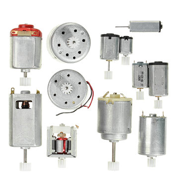 3 Sets 12 Kinds Motor Gear Pack DIY Model Parts Micro DC Motor
