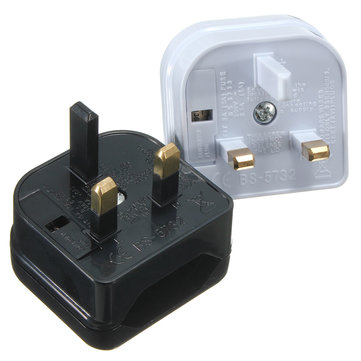 Euro European EU 2 to 3 Pin UK Universal Travel Adaptor Main Plug Converter