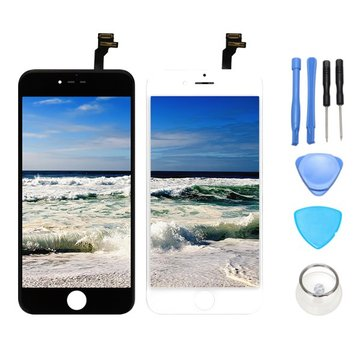 Full Assembly No Dead Pixel LCD Display+Touch Screen Digitizer Replacement With Repair Tools For iPhone 6 Plus