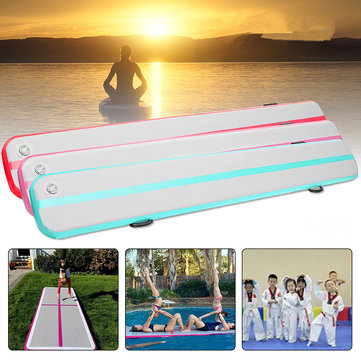 197X15.7X5.9inch Airtrack Gymnastics Mat Home Tumbling Rolling Mat Inflatable GYM Air Track Mat Floor Training Sports Pad