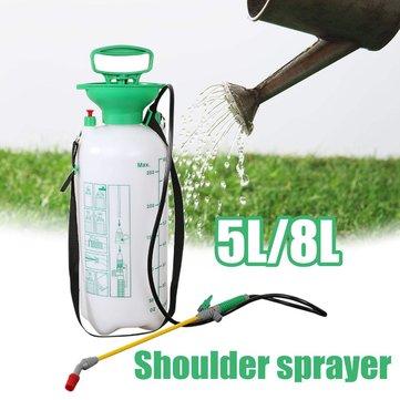 5L 8L Liter Pump Pressure Knapsack Sprayer Shoulder Spray Kill Weeds Insect Garden Tool