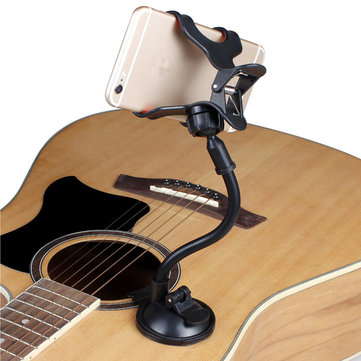 Guitar Sidekick Smartphone Holder Stand Support Mount for iphone 6s Samsung s6