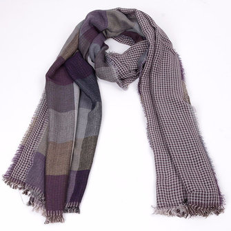 Mens Winter Plaid Windproof Scarf Valentine's Day Gifts