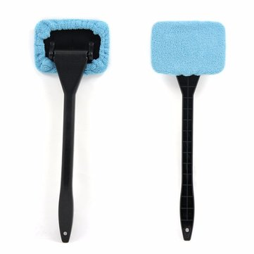 Tirol Car Wind Shield Clean Brush Shine Auto Wiper Cleaner Glass Window Brush Handy Washable Microfib