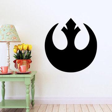 สติ๊กเกอร์ติดผนัง W-1 Star Wars - สีดำ