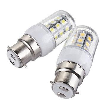 B22 LED Bulbs 12V 3W 27 SMD 5050 White/Warm White Corn Light