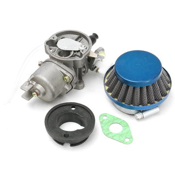 Carburetor Air Filter Assembly Kit For 47cc 49cc Mini Moto ATV Dirt Pocket Bike