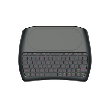 Mini I8 D8-S English Russian Laser Version wireless 2.4GHz keyboard MX3 Air Mouse