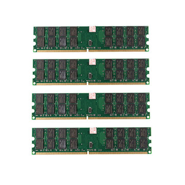 4 PCS 4GB DDR2 800MHZ PC2-6400 240 Pins Desktop PC Memory AMD Motherboard