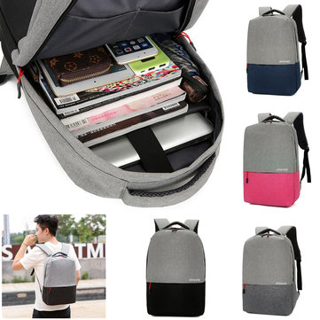 Men's 15.6 inch Laptop Backpack Bag Travel Sports Day Notebook Knapsack Women School Bags