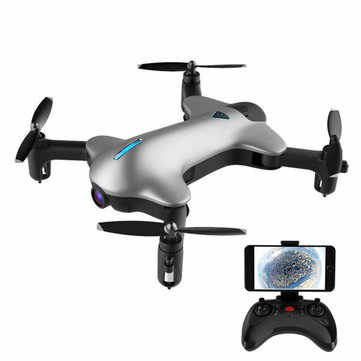 APEX GD-145B FOXBAT WiFi FPV Pocket Drone With 1080P Wide Angle Camera Altitude Hold RC Quadcopter
