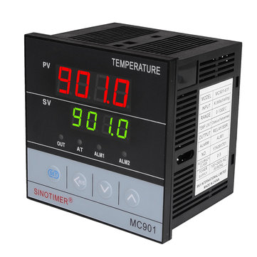MC901 96x96mm Universal Input Digital PID Temperature Controller Regulator SSR Relay Output for Heating or Cooling with Alarm Fahrenheit